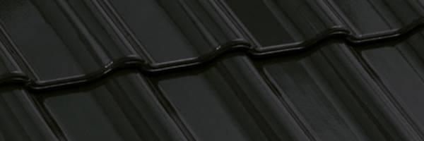 Tigla ceramica Nelskamp F12 Ü - NORD   negru
