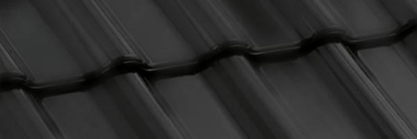 Tigla ceramica Nelskamp F12 Ü - NORD | negru mat