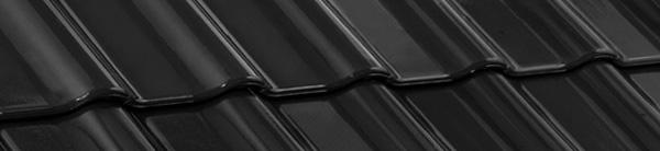 Tigla ceramica Nelskamp F12 Ü - SUD | negru glazurat