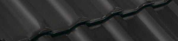 Tigla ceramica Nelskamp F14 | vintage negru